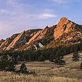 The Flatirons Print by Aaron Spong