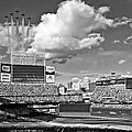 Thunderbird Flyover at Target Field for All Star Game Print by Mountain Dreams