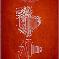 Vintage film camera patent from 1948 Print by Aged Pixel