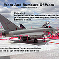 Wars And Rumours Of Wars Print by Bible Verse Pictures