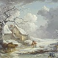 Winter Landscape Poster by PG REPRODUCTIONS