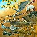 100 Years of Aviation Poster by Michael Swanson