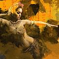 Belly Dancer Poster by Corporate Art Task Force