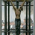 15. Jesus Dies / from The Passion of Christ - A Gay Vision Print by Douglas Blanchard