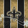 NEW ORLEANS SAINTS Print by Joe Hamilton