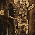 1900's Vintage Steampunk Poster by Tisha McGee