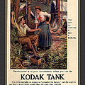 1907 Vintage Kodak Tank Advertising Print by Anne Kitzman