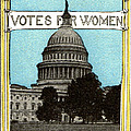 1913 Votes For Women Poster by Historic Image