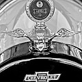 1915 Chevrolet Touring Hood Ornament - Moto Meter Poster by Jill Reger