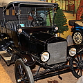 1917 Ford Model T Touring 5D25581 Print by Wingsdomain Art and Photography