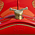 1919 Ford Volunteer Fire Truck Print by Jill Reger