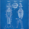 1921 Explosive Missle Patent Blueprint Print by Nikki Marie Smith