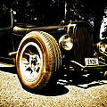 1928 Ford Model A Rod Poster by Phil 'motography' Clark