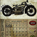 1930 Indian 402 Print by Cinema Photography