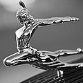 1935 Pontiac Sedan Hood Ornament 4 Print by Jill Reger