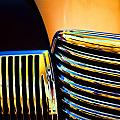 1939 Studebaker Champion Grille Poster by Carol Leigh