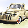 1944 Chevrolet Pickup Truck  Poster by Greg Eilers