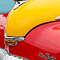 1946 DeSoto Skyview Taxi Cab Hood Ornament Poster by Jill Reger
