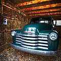 1950 Chevy Truck Poster by Debra and Dave Vanderlaan