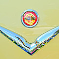 1951 Chrysler New Yorker Convertible Emblem Print by Jill Reger