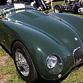 1952 Jaguar XK120 Roadster 5D22967 Poster by Wingsdomain Art and Photography