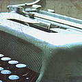 1952 Olivetti Typewriter Print by Nomad Art And  Design