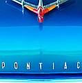 1955 Pontiac Safari Hood Ornament 4 Poster by Jill Reger