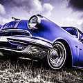 1955 Pontiac Safari Print by motography aka Phil Clark