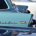 1956 Chevrolet Belair Nomad Rear End Print by Jill Reger