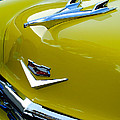1956 Chevrolet Hood Ornament 3 Print by Jill Reger