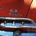 1956 Dodge 500 Series Photo 2b Print by Anna Villarreal Garbis