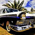 1957 Ford Custom Print by motography aka Phil Clark