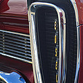 1958 Edsel Pacer Grille 2 Print by Jill Reger