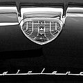 1958 Ford Fairlane 500 Victoria Hood Emblem Poster by Jill Reger