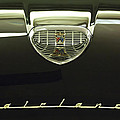 1958 Ford Fairlane 500 Victoria Hood Ornament Print by Jill Reger