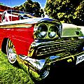 1959 Ford Fairlane 500 Skyliner Print by motography aka Phil Clark