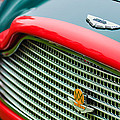 1960 Aston Martin DB4 GT Coupe' Grille Emblem Print by Jill Reger