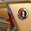 1960 Plymouth Fury Convertible Taillight and Emblem Print by Jill Reger