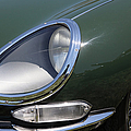 1961 Jaguar XKE Roadster 5D23322 Poster by Wingsdomain Art and Photography