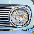 1963 Ford Falcon Futura Convertible Headlight - Hood Ornament Poster by Jill Reger