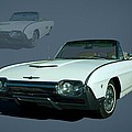 1963 Ford Thunderbird Convertible Print by Tim McCullough