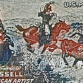 1964 C. M. Russell Stamp Print by Bill Owen
