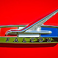 1964 Ford Falcon Emblem Poster by Jill Reger
