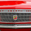 1967 Fiat Abarth 1000 OTR Grille Poster by Jill Reger
