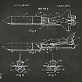 1975 Space Vehicle Patent - Gray Poster by Nikki Marie Smith