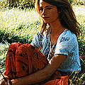 Charlotte Rampling Print by Silver Screen