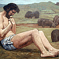 Chavannes' The Prodigal Son Poster by Cora Wandel