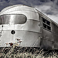 Classic Airstream caravan Poster by Ian Hufton