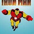Classic iron Man Poster by Mista Perez Cartoon Art