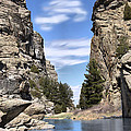 Devil's Gate on the Sweetwater Print by Nena Trapp